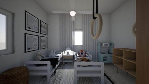 Adi kidsroom 1 - Kids room  - by erlichroni