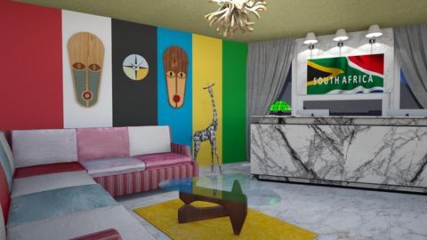 Embassy Reception Room - Minimal - by Tupiniquim