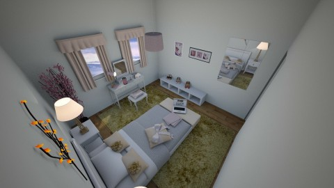 Tiny bedroom - Feminine - Bedroom - by CARMEND70