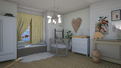 Welcome baby - Kids room  - by augustmoon