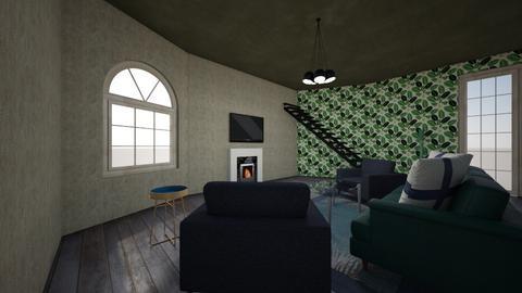 Living room - by LillianPacheco