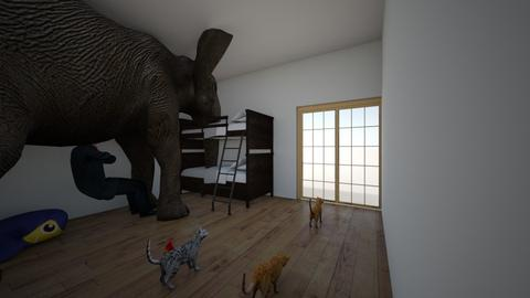elias olifantenkamer - Kids room  - by Geertje Verhellen
