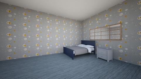 superman - Kids room  - by Thisendee_Thehansa