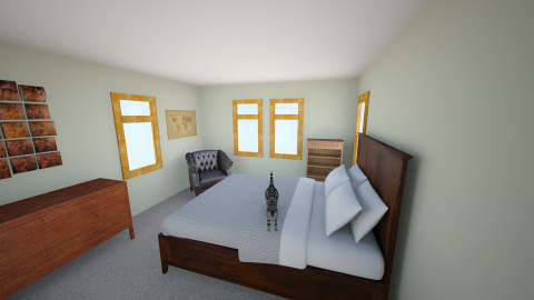 michael - Rustic - Bedroom  - by zwsorenson