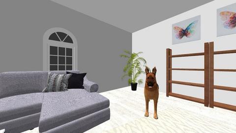 LivingRoomOfThePeople - Modern - Living room  - by CadenceBailey228