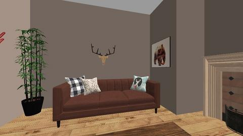 Rustic Living Room - Living room  - by BaylorBear