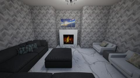 my second design - Living room  - by OferneH