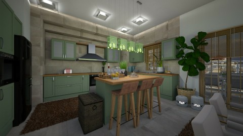 14122017 - Classic - Kitchen - by matina1976