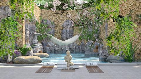 Yoga Sanctuary - by Maryjo1965