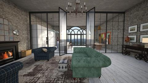 calm space - Eclectic - Living room  - by kitty