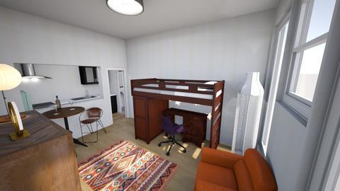 Student Life Studio - Eclectic - Living room - by KajsaRain