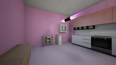 pink - Glamour - Garden  - by sanaria rashad