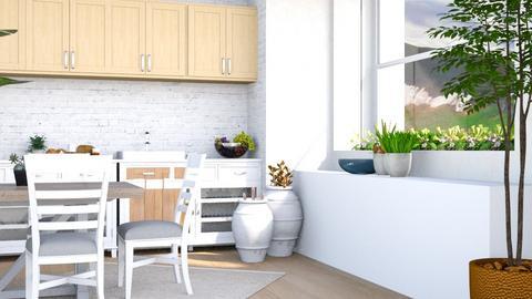spring kitchen - Kitchen  - by iope