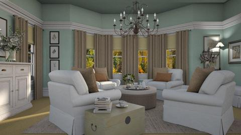 Adelene - Classic - Living room  - by Claudia Correia