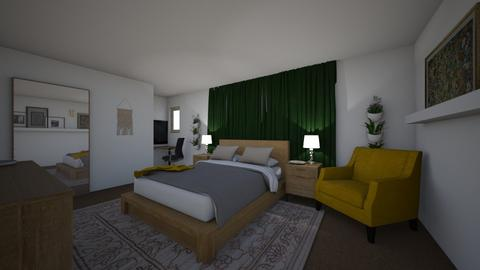 Townhome Master - Eclectic - Bedroom - by Whitney Rose