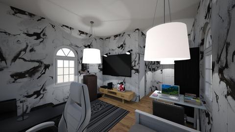 Gaming bedroom - Bedroom  - by nanta_gay