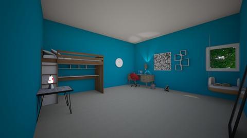 teen room - Bedroom - by designgirl22