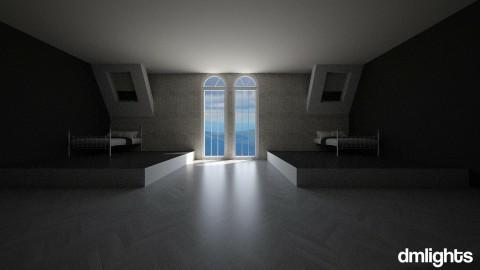 twin - Bedroom  - by DMLights-user-1527155