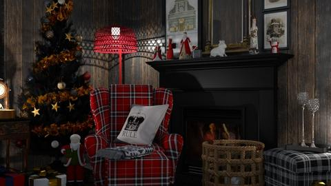 Christmas wall - by nat mi