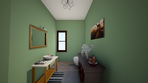 Venus_Washroom - Classic - Bathroom  - by vivian wong_172