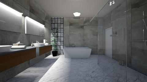 modern bathroom - Bathroom - by ANP0908