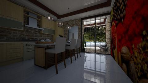 Helena  - Kitchen  - by Maria Helena_215