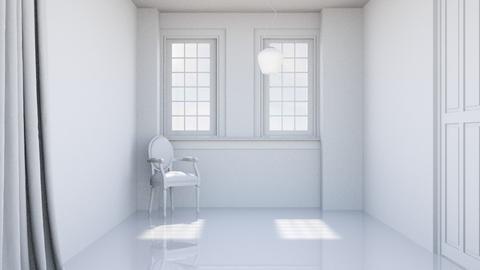 Blanc - Minimal - Living room - by HenkRetro1960