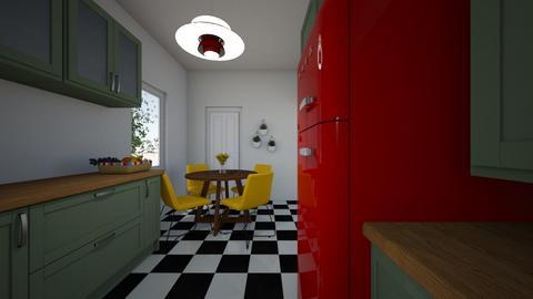 ewa - Kitchen - by futrzanykrol