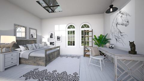 Horses - Modern - Bedroom  - by cfowle9094