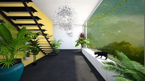 Urban Jungle Hallway - by Brown Bear Interior