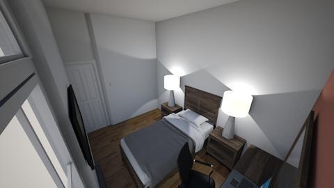 mi nueva cueva - Glamour - Bedroom  - by Alexia Rivera