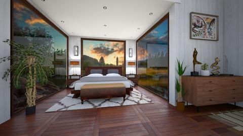 Feng Shui - Bedroom  - by Sara87