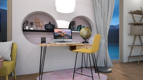 Blurry Office - Modern - Office  - by TortillaChip