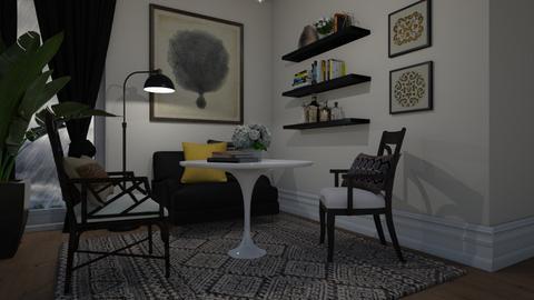 Three armchairs - Living room  - by Tuija