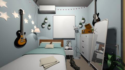 tentativa de quarto - Bedroom  - by stenyste