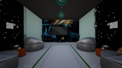 Kids Theater Room - Modern - by Dax mistry 123
