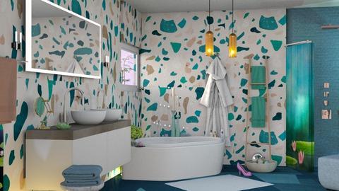 M_ Lily Pond - Bathroom - by milyca8