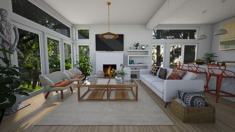 Sam N - Living room  - by nkanyezi