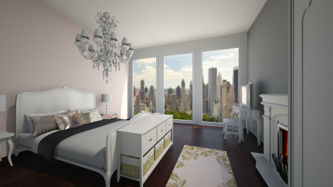 1 West 72nd Street - Living room - by bows_up_high