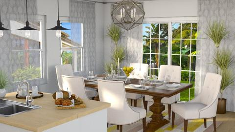 Dinning and Kitchen 1 - Dining room - by Mariana Gooliveira