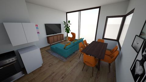 Living Room - Retro - Living room  - by mikgi2311