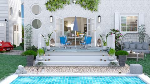 M_ Porch - Garden  - by milyca8