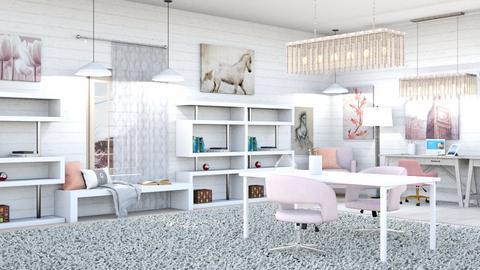 Cream Office - by Horse_Lover_Mel