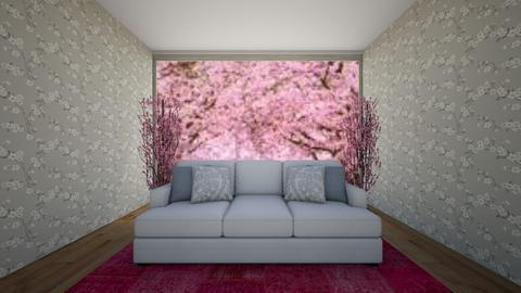 The Cherry Blossom - Living room  - by theIrishdog