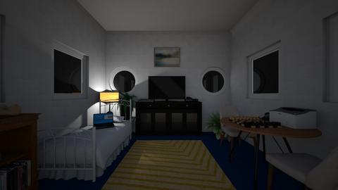 Peace and Quiet - Minimal - Bedroom  - by DaRealSingularPeoples