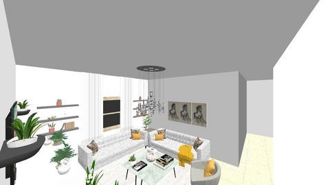 MALAK - Living room - by MALAK120