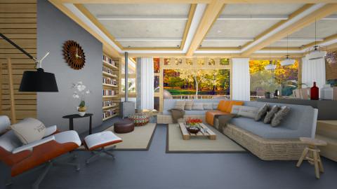 autumn  - Modern - Living room  - by Evangeline_The_Unicorn