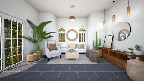 Kitchen and Living room 1 - Modern - Living room  - by evabarrett