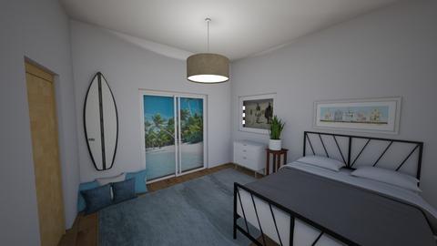 beach room - Bedroom  - by malooriginal