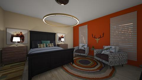 Mod_Lodge - Country - Bedroom  - by hmgrl